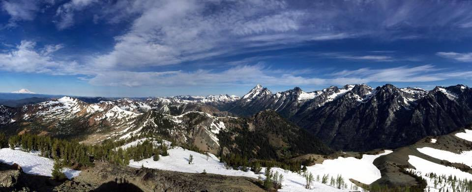 navaho peak summit
