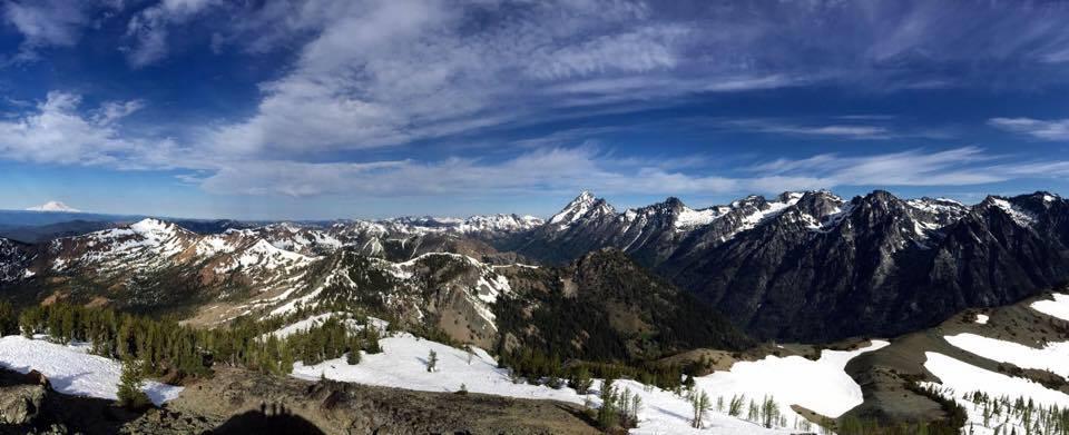 navaho peak summit