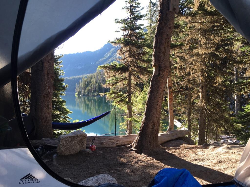 campsite wake up