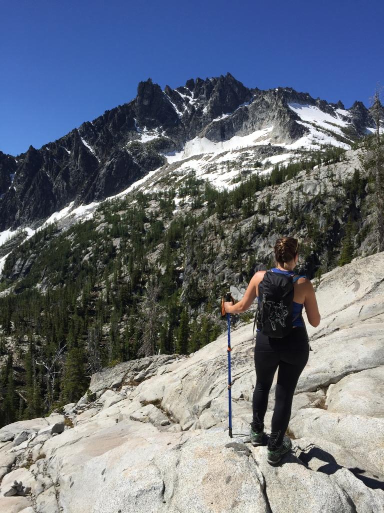 enchantments view - climb up