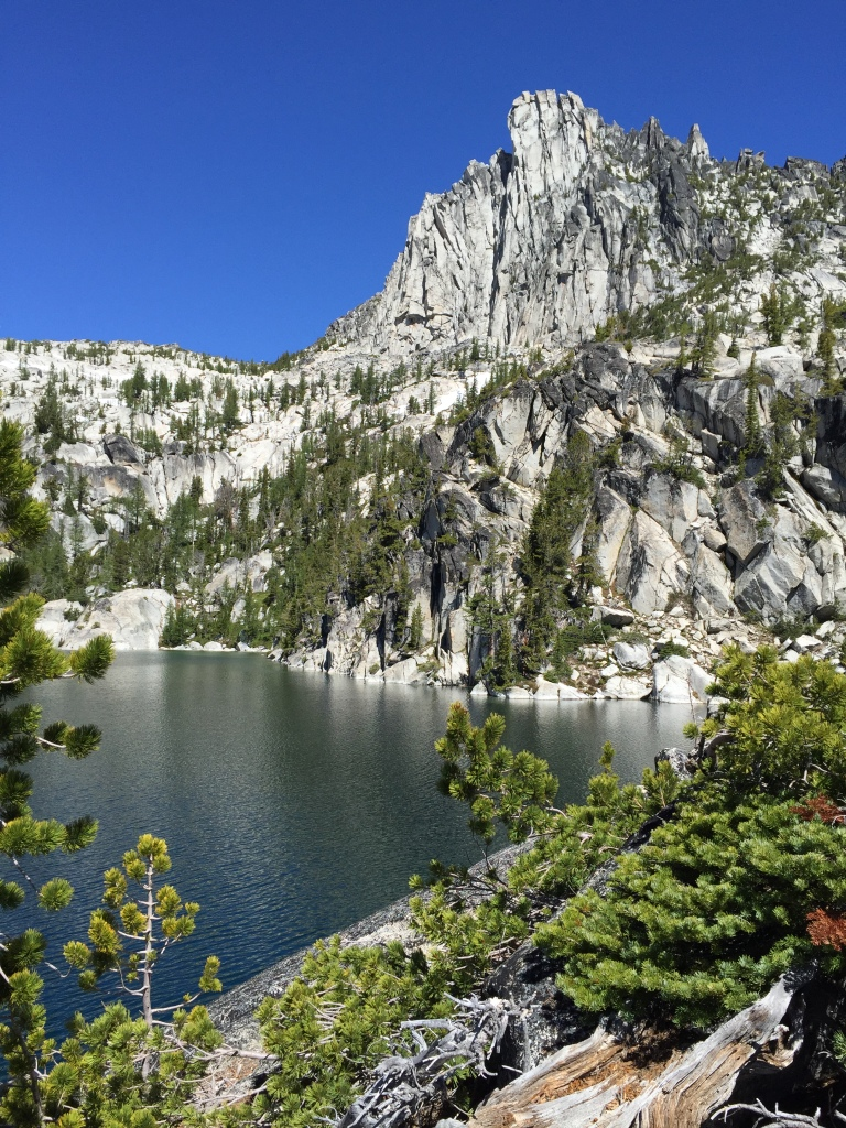 lake viviane peak