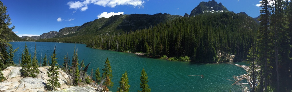 snow lake hangout pano